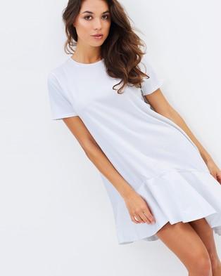 Mossman – The Right Angle Dress – Dresses (White)