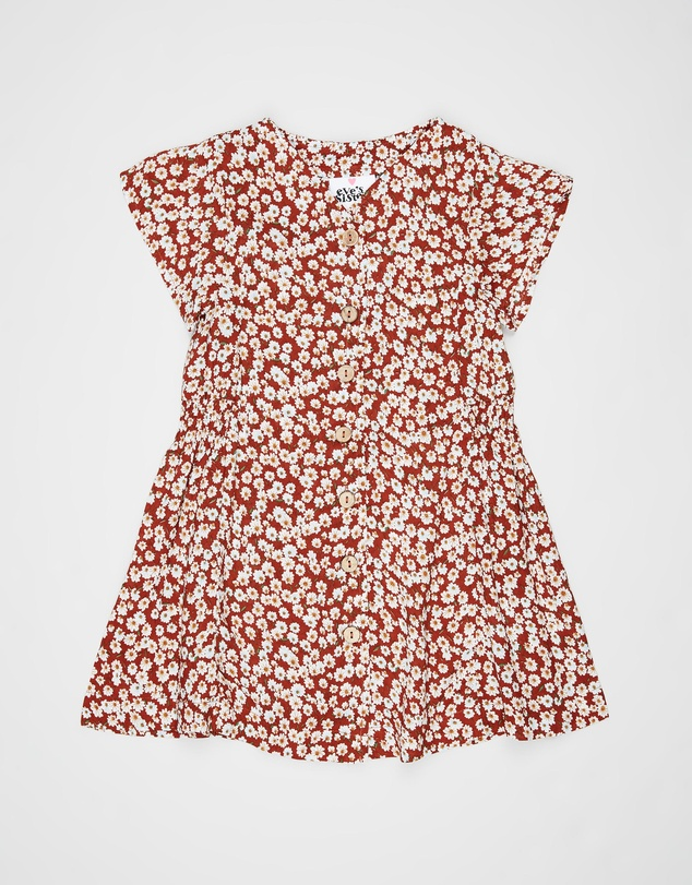 Eve's Sister - Western Floral Dress - Kids