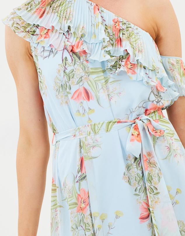 Cooper St - Blooming One Shoulder Maxi Dress