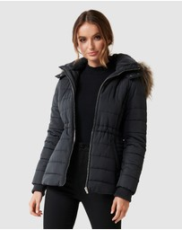 Forever New - Lisa Short Puffa Jacket