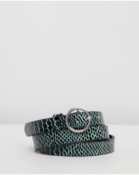 Maison Scotch - Skinny Leather Belt