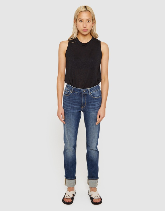 Jag - Bianca High Rise Straight Jeans