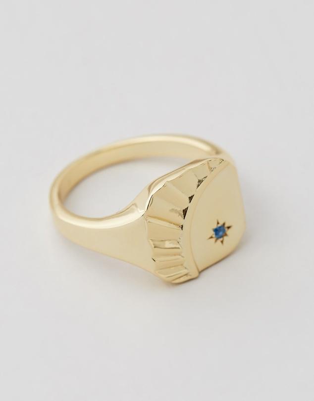 Women Blue Moon Ring
