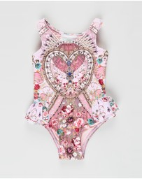 Camilla - Ruffle Back One Piece - Babies