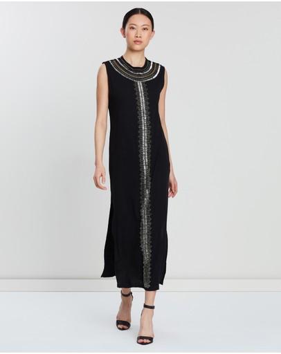 Sass & Bide Mineral Lustre Dress Black