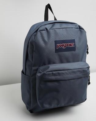 JanSport SuperBreak Backpack - Outdoors (Deep Grey)