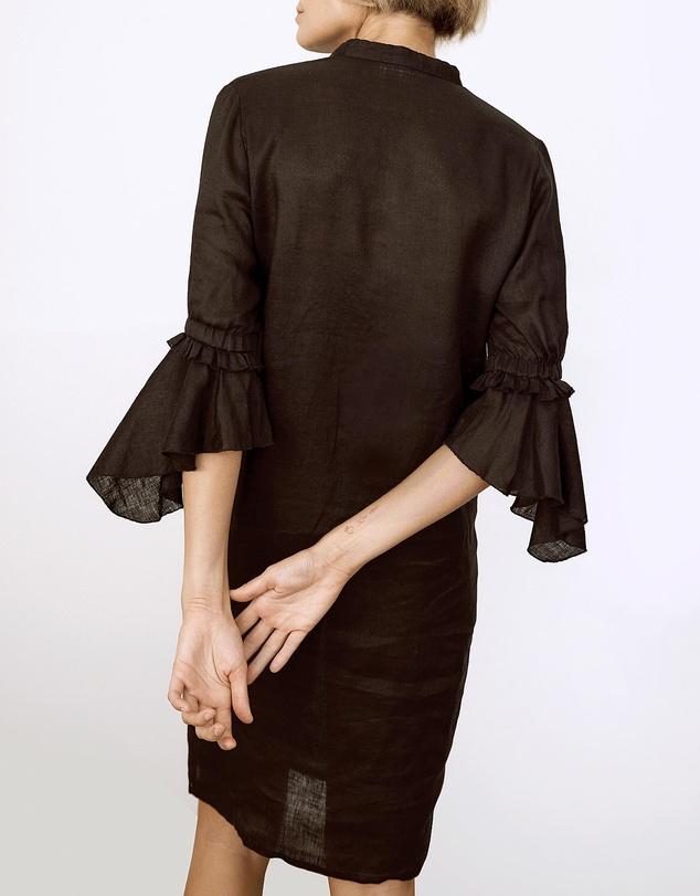 Women Tulah Linen Shirt Dress
