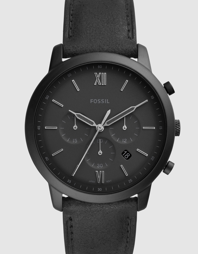 Fossil - Neutra Black Chronograph Watch