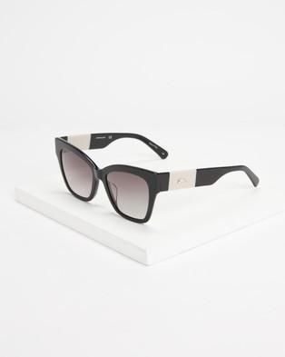 Longchamp LO650S - Square (Black)