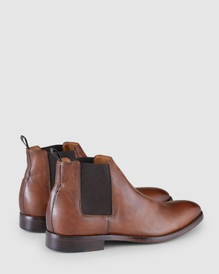 Aquila Bowyer Chelsea Boots - Dress Boots (Brandy)