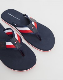 Tommy Hilfiger - Corporate Badge Beach Sandals - Men's