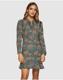 Oxford - Mannon Chintz Print Dress