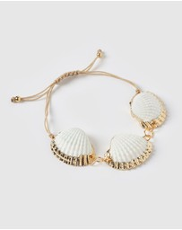 Miz Casa and Co - Bora Bora Shell Bracelet