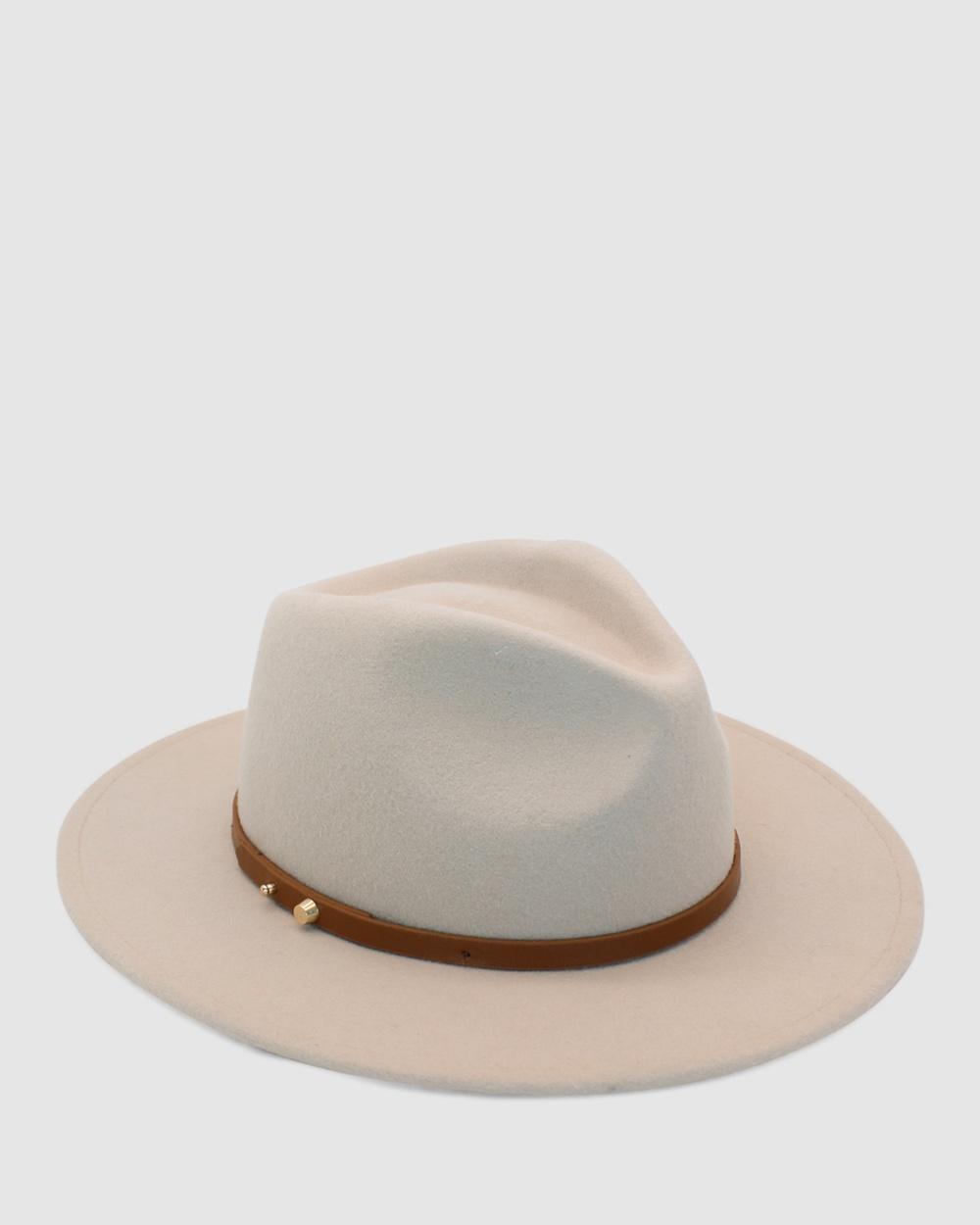 Ace Of Something Oslo Fedora Hats Oatmeal