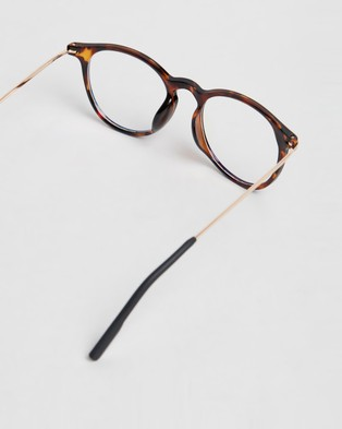 OPPEN Your Eyes Magnification Lenses - Optical (Tortoise)