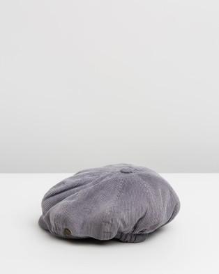 Fallen Broken Street The Oliver   Kids - Headwear (Purple Corduroy)