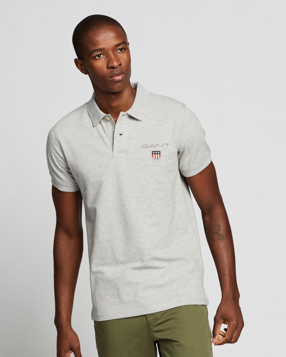 GANT Boys Medium Shield Pique Polo Shirt
