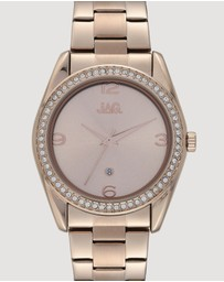 Jag - Brooke Rose Gold Dial IP Rose Gold Bracelet 38 mm