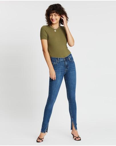 Nobody Denim Cult Skinny Split Jeans Prime