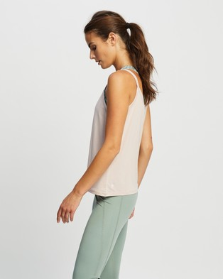 Nimble Activewear Bind Tank - Muscle Tops (Rose Smoke)