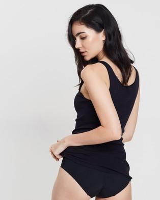 HANRO Delicate Top - Sleepwear (Black)
