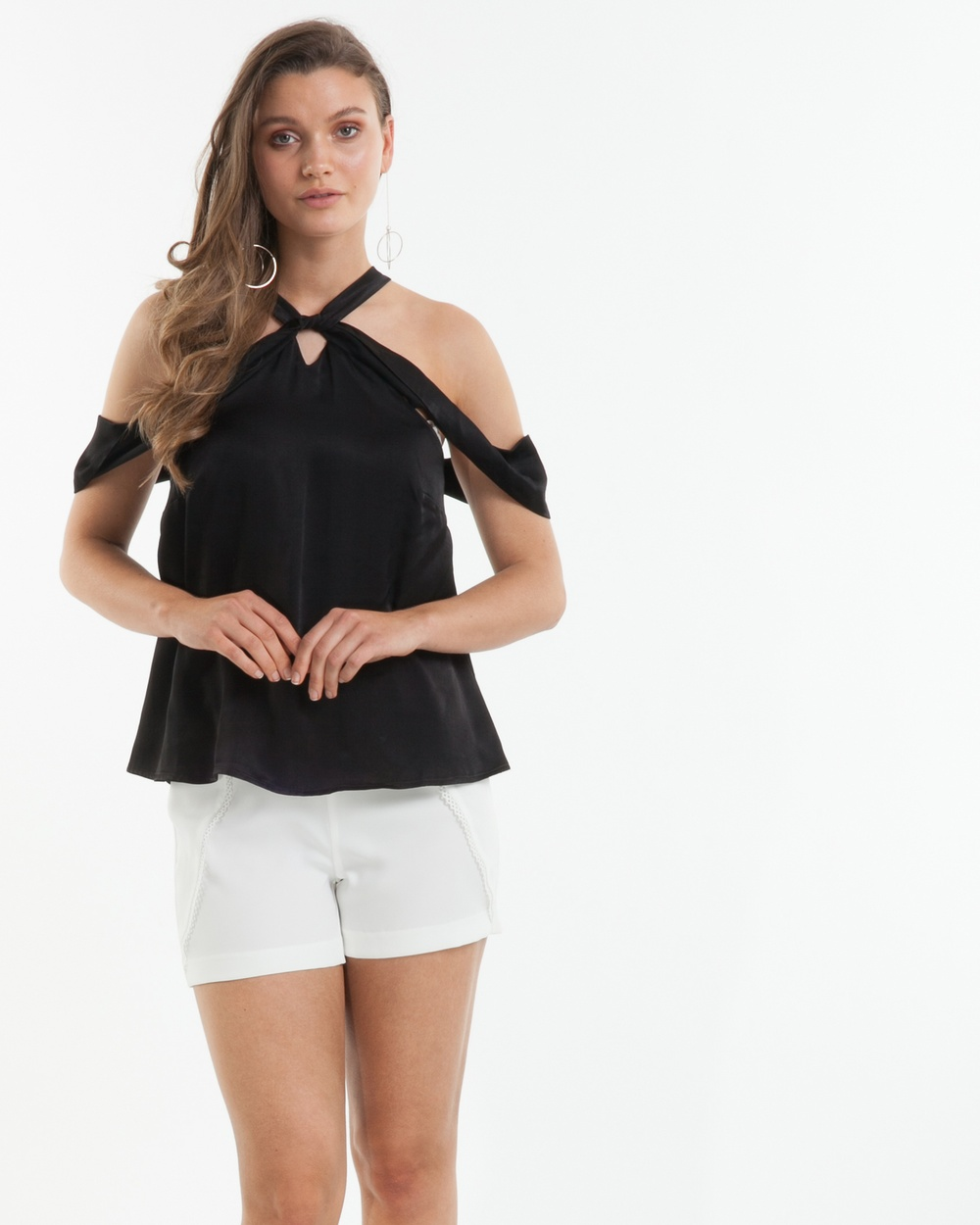Amelius Arcadia Top Tops Black Arcadia Top