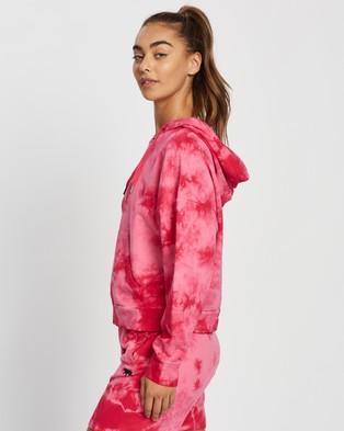 Running Bare Lounging Pullover Hoodie - Hoodies (Rosa Tie-Dye)
