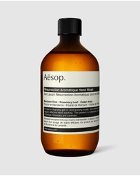 Aesop - Resurrection Aromatique Hand Wash screw cap 500ml
