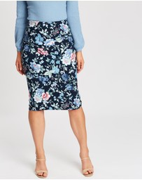 Review - Blue Bouquet Skirt