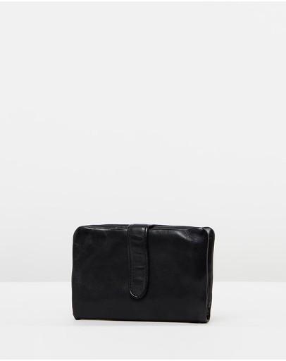 Stitch & Hide Newport Wallet Black