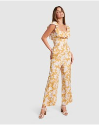 Forever New - Samantha Belted Frill Jumpsuit