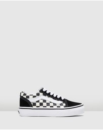 Vans - Old Skool Lace Check Youth