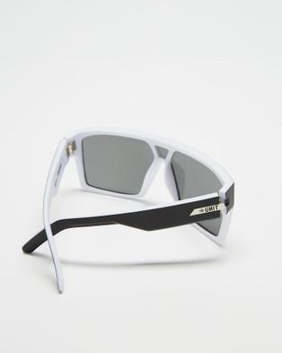 UNIT Command Polarised Sunglasses - Sunglasses (Black & White)