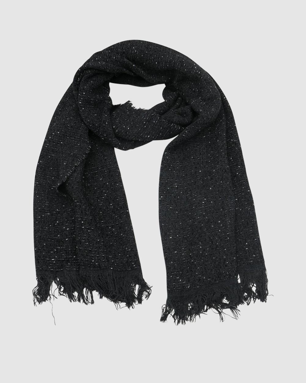 Morgan & Taylor Marianna Scarf Scarves Gloves Black