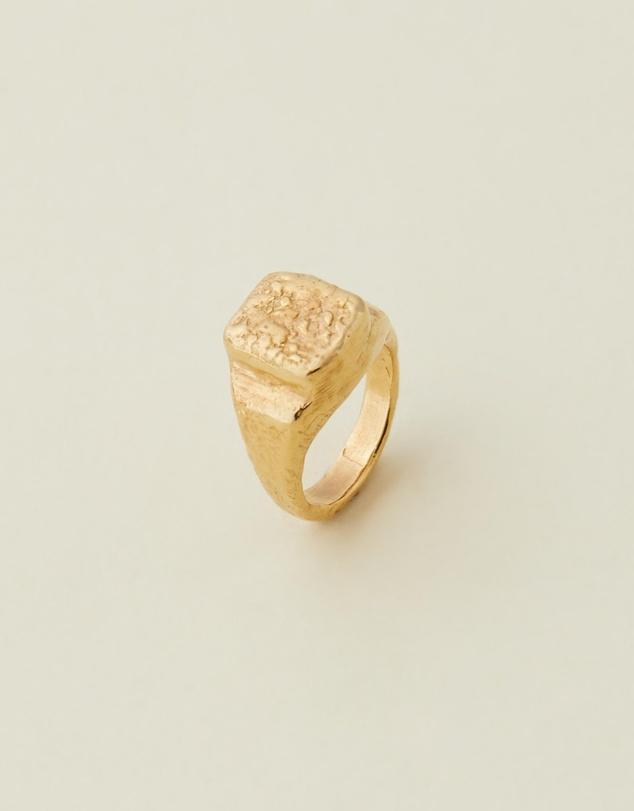 Women Classic Signet Ring 001