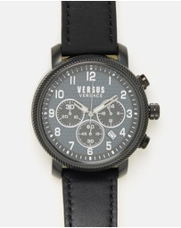 VERSUS Versace - Hoxton Square 47mm Chrono Leather