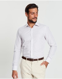 Gieves and Hawkes - Cotton Check Fitted Formal Shirt