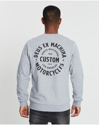 Deus Ex Machina - Program Crew Sweater