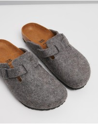Birkenstock - Boston Wool Felt Narrow - Women's