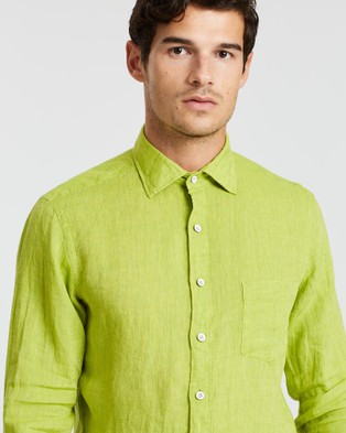 Rodd & Gunn Coromandel Sports Fit Shirt - Casual shirts (Lime)