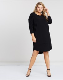 Advocado Plus - Inset Panel Dress