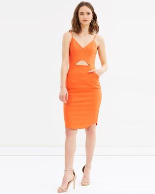 Grace Willow – Vivian Bodycon Dress – Bodycon Dresses Mandarine