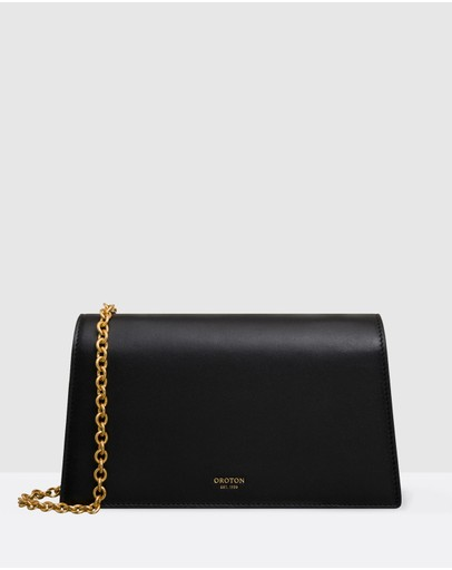 Oroton - Hazel Wallet Chain Cross-Body