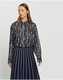 Michael Kors - Spaced Sailor Oversized Top