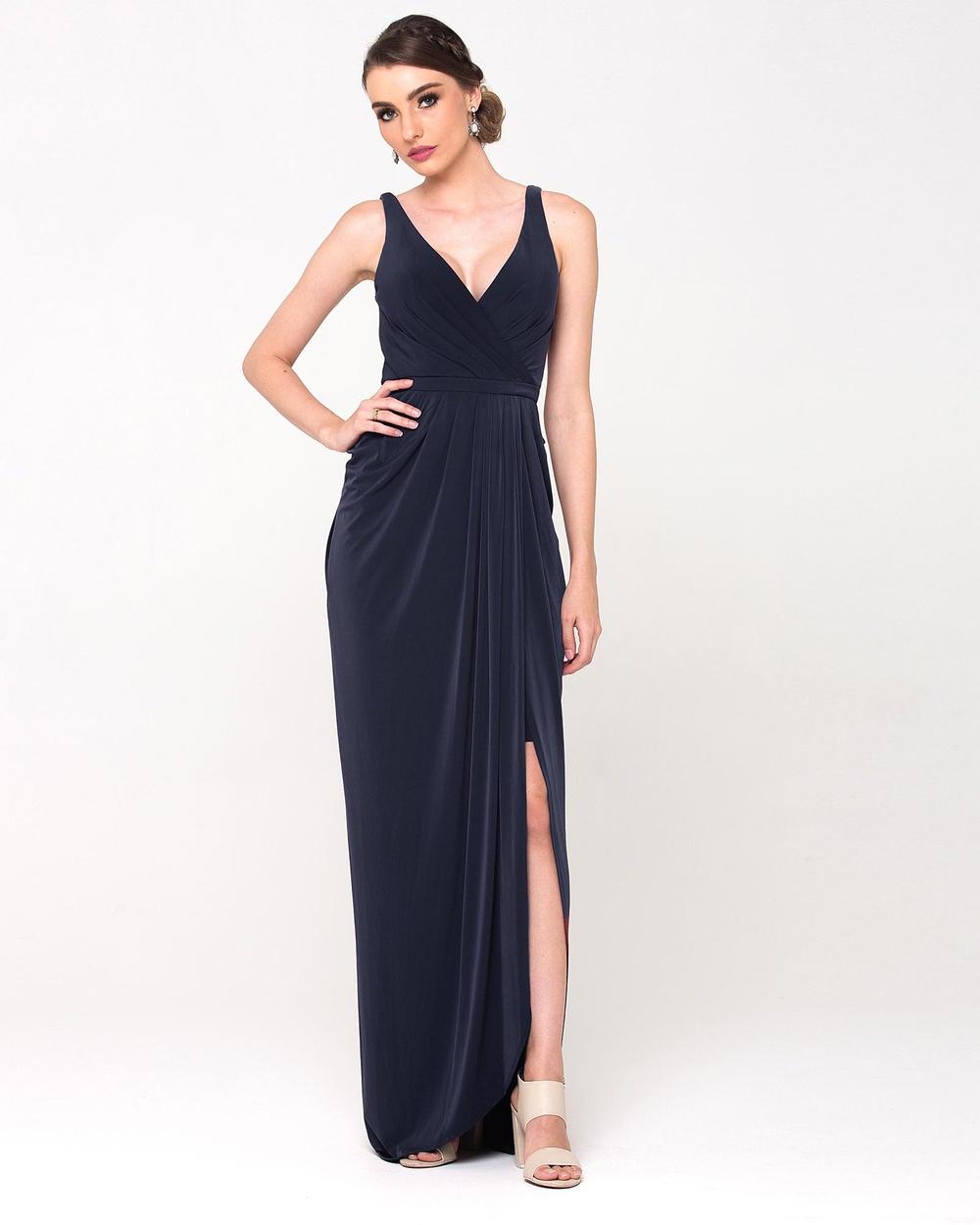 Tania Olsen Designs Bianca Dress Bridesmaid Dresses Navy Bianca Dress
