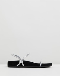 Caverley - Oscar Suede Leather Sandals