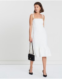 FRIEND of AUDREY - Allix Textured Midi Dress