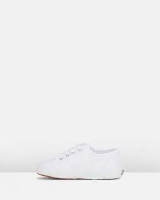 Superga - 2750 Cot Bump Classic Youth - Sneakers (White) 2750-Cot Bump Classic Youth
