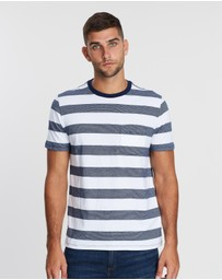 Everyday Pocket Stripe Tee