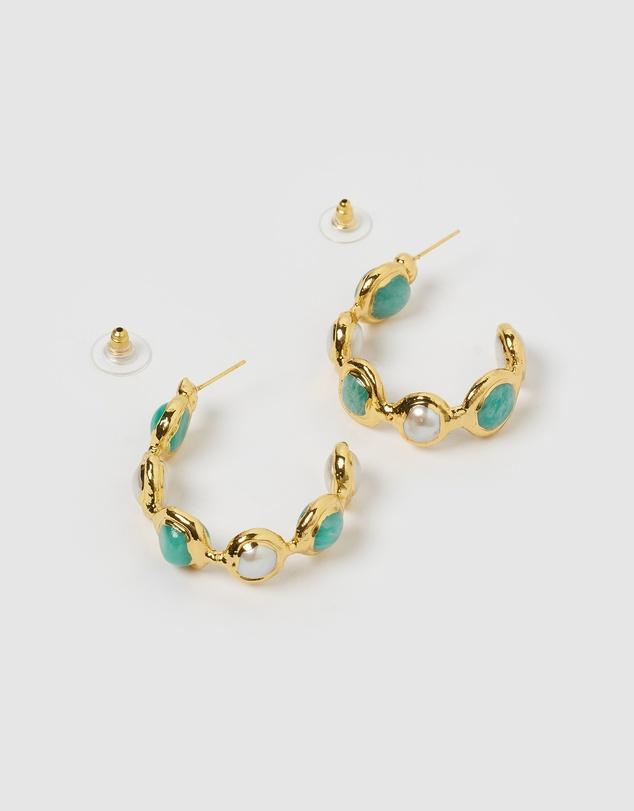 Women Noa Hoop Earrings